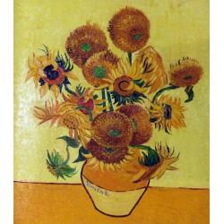 Jarrón con catorce girasoles de Van Gogh