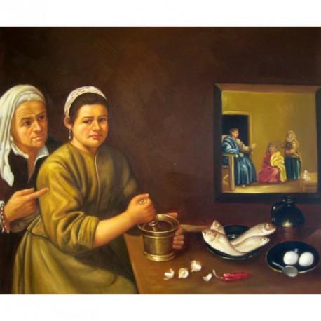 Cristo en casa de Marta de Velázquez