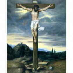 Cristo en la cruz de Zurbarán