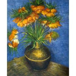 Corona Imperial en jarra de cobre de Van Gogh