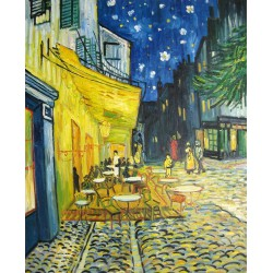 Terraza del café por la noche de Van Gogh