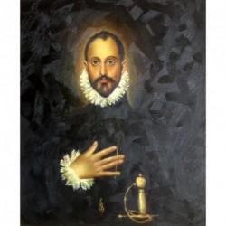 El Caballero de la mano en el pecho de El Greco