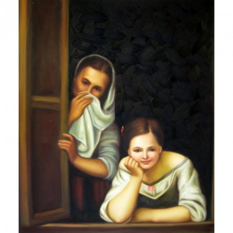 Chica y su dueña de Murillo