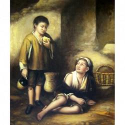 Dos niños mendigos de Murillo