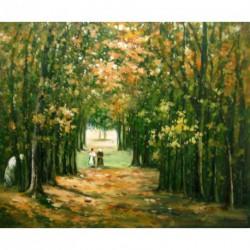 El bosque de Marly de Pissarro