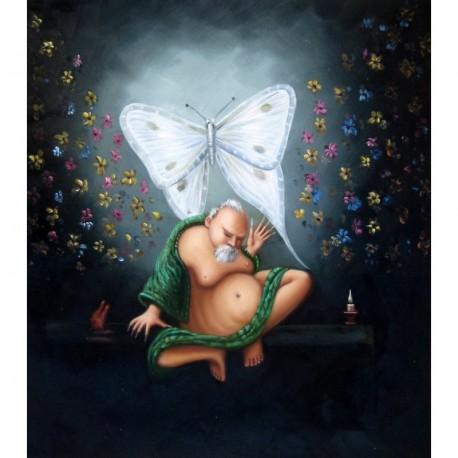 El buda y la mariposa