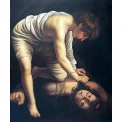 David con la cabeza de Goliath de Caravaggio
