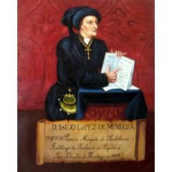 Don Iñigo López de Mendoza 75x60cm