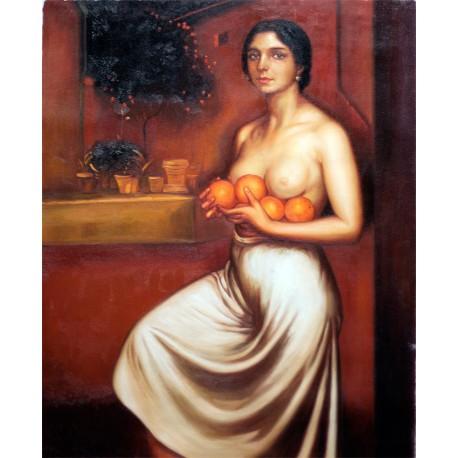 Naranjas y limones de Julio Romero de Torres
