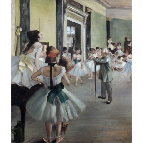 La clase de danza de Degas