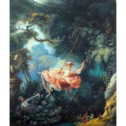 El columpio de Fragonard