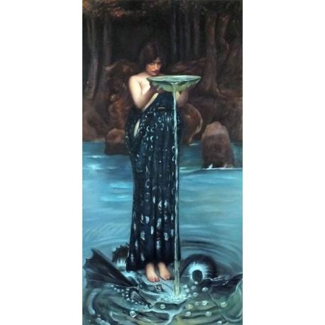 Circe Invidiosa de Waterhouse