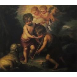Los niños de la concha de Murillo