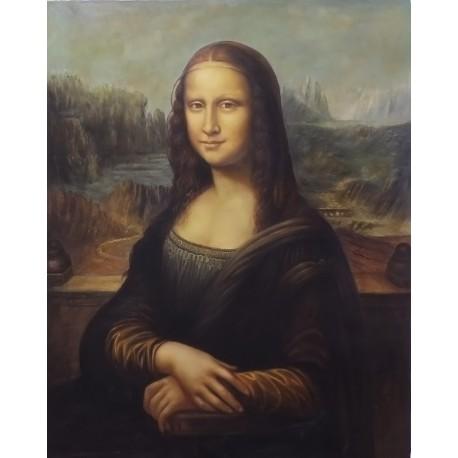 Ver más grande La Mona Lisa o Gioconda de Leonardo Da Vinci