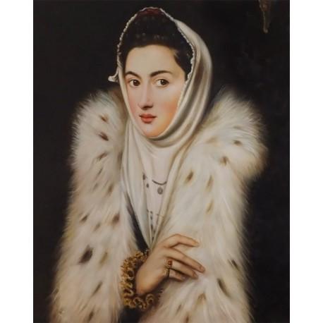 La Dama del armiño de Sofonisba de Anguissola