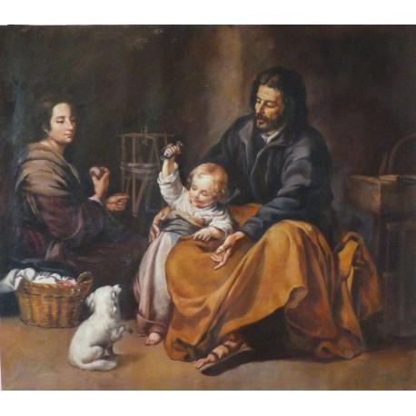 La Sagrada Familia del pajarito de Murillo
