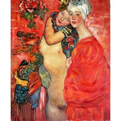 Amigas, girlfriends de Klimt