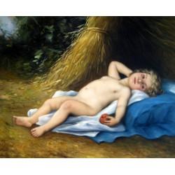 Angel con manzana de Perrault