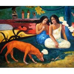 Arearea, Felicidad en el paraíso de Gauguin