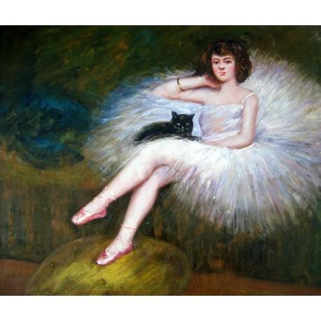 Bailarina descansando de Pierre Carrier-Belleuse