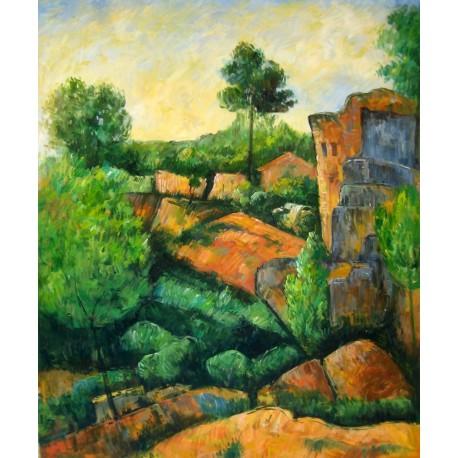 Bibemus Quarry, La cantera de Cézanne
