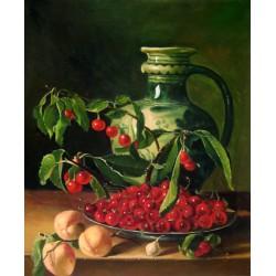 Bodegón con frutas y un jarro de Meléndez