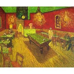 El café de tarde de Van Gogh