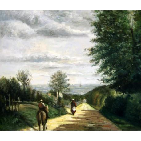 El camino de Sevres de Corot