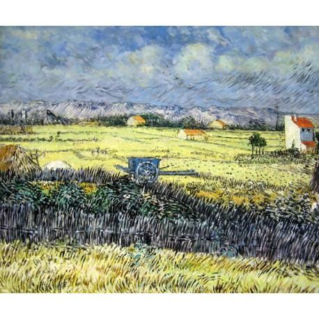 El carro azul de Van Gogh