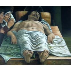 El cristo yacente de Andrea Mantegna