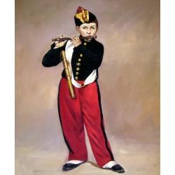 El flautista de Manet