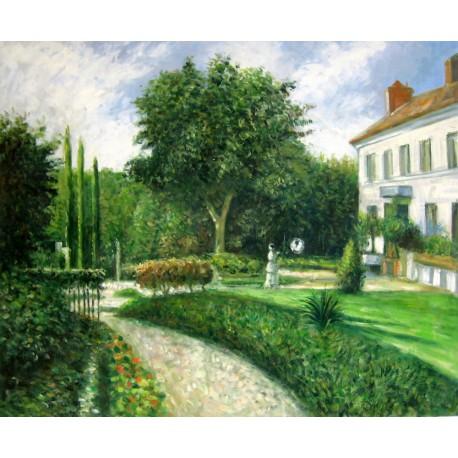 El jardín de Pontoise de Pissarro