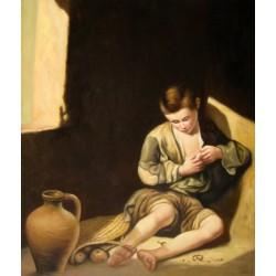 Niño espulgándose de Murillo