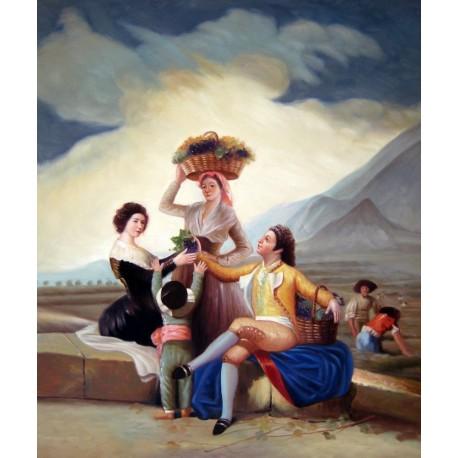 El otoño o La vendimia de Goya