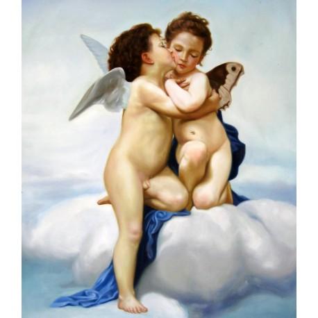 El primer beso de Bouguereau