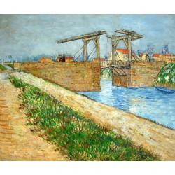 El puente de L'Anglois de Van Gogh