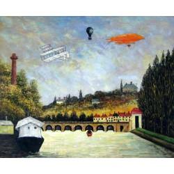 El puente de Sevres de Rousseau