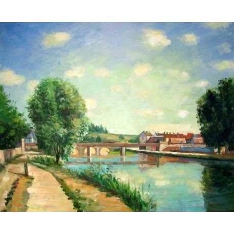 El Puente del Ferrocarril de Pissarro