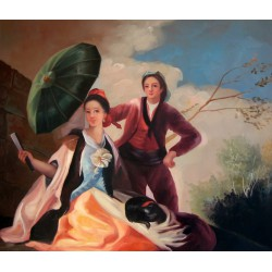El quitasol o parasol de Goya