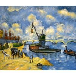 El Sena en Bercy de Cézanne