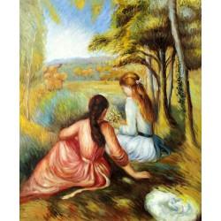 En la pradera de Renoir
