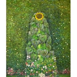 Girasol de Klimt