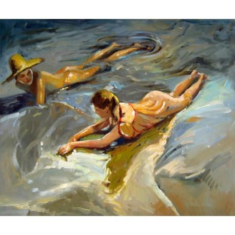 Idilio en el mar de Sorolla