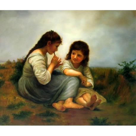 Idilio Infantil de Bouguereau
