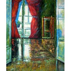 Interior de casa de Schiele