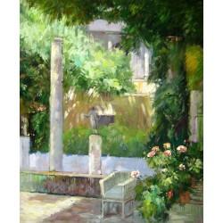 Jardín de la casa de Sorolla
