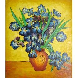 Jarrón con lirios de Van Gogh