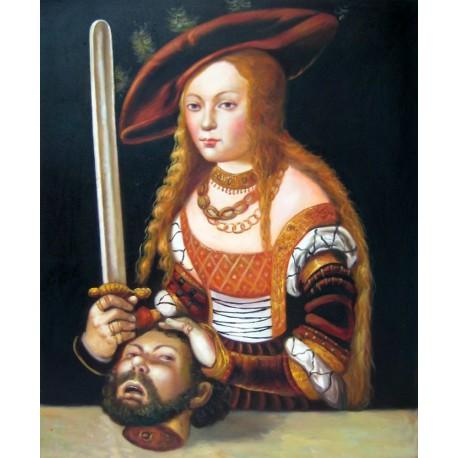 Judith con la cabeza de Holofernes de Luca Cranach