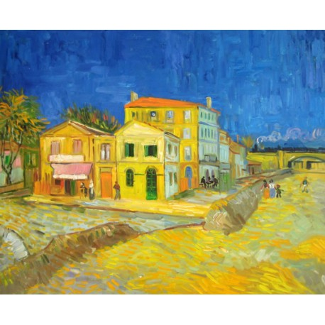La casa de Vincent en Arles de Van Gogh