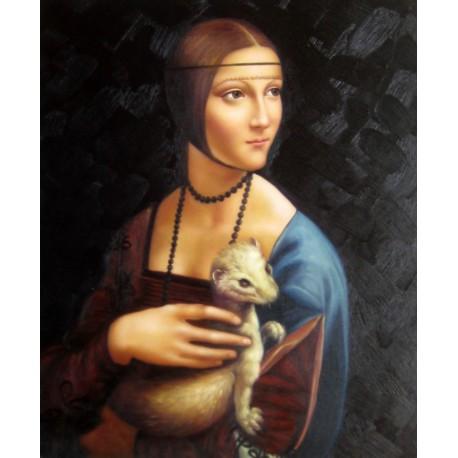 La dama del armiño de Leonardo da Vinci